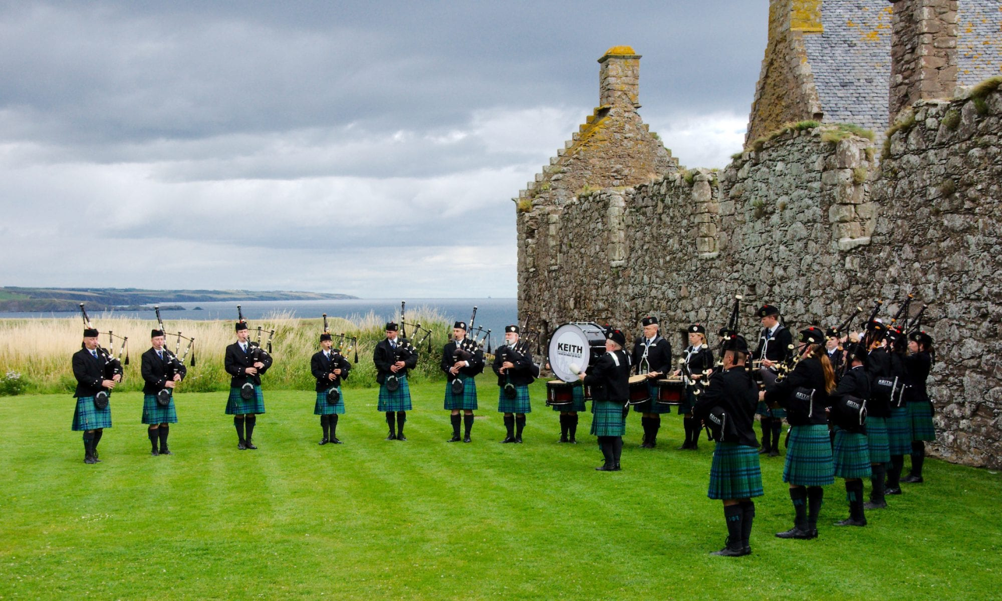 Keith Highlanders Pipe Band